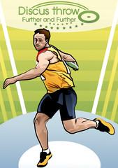 Illustration of discus