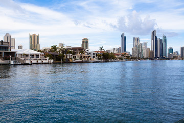 Australia's Gold Coast building
