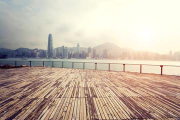 landscape of modern city ,Hong Kong