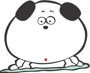 강아지 캐릭터