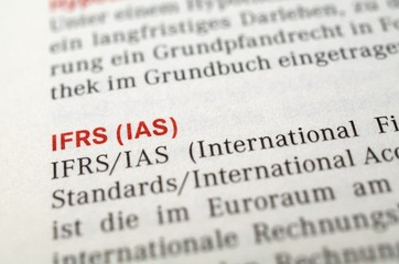 IFRS, IAS