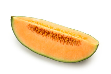 Slice of cantaloupe