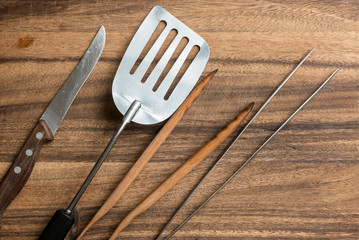 Cutlery for Barbecue