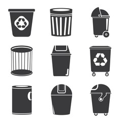 recycle bin icons