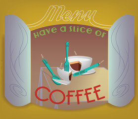 Coffee Menu or Poster Layout