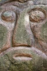 Stone Head in Riga