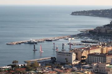 Napoli Posillipo Caracciolo Mergellina America's Cup