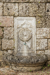 Fountain in the Wall