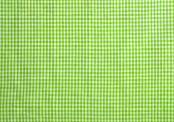 Grün und weiß karierter Hintergrund als Textur