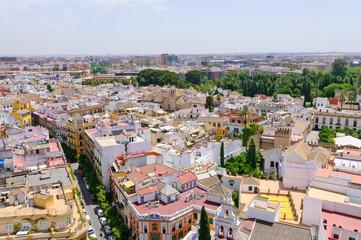 Cityscape in Sevilla, Spain