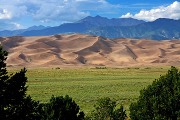 Photo sur Aluminium Parc Naturel Great sand dunes