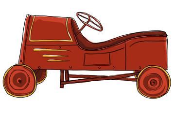 Pedal Car Vintage Toy