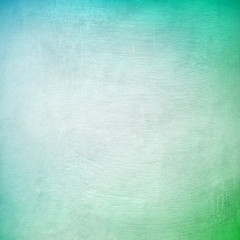 Cyan and green grunge background