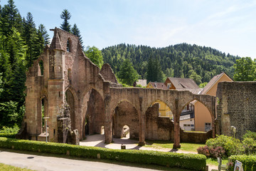 Klosterruine Allerheiligen monastery ruins, Oppenau, Black Fores