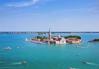 San Giorgio Maggiore island and cathedral, Venice, Italy