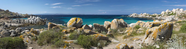 Îles Lavezzi Corse du Sud Vue Panoramique
