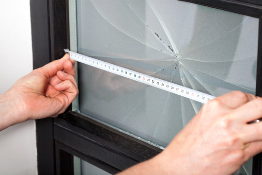 Measuring window dimension