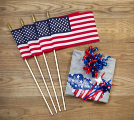 Independence Objects for holiday in United States of America