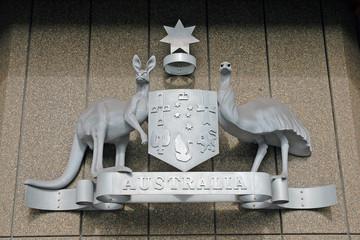 Australian Coat of Arms, Sydney, Australia