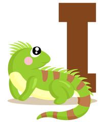 I for Iguana