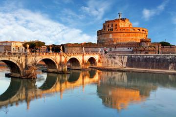 Foto op Plexiglas Rome Rome - Castel saint Angelo, Italy