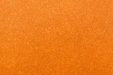 orange glitter texture background
