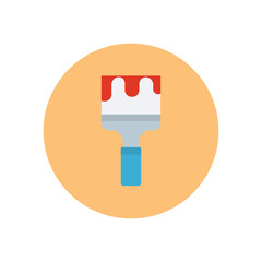 Paintbrush - Vector icon