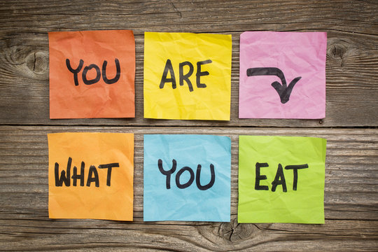you are what to eat concept