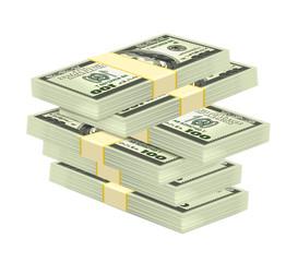 Vector Stack of Money