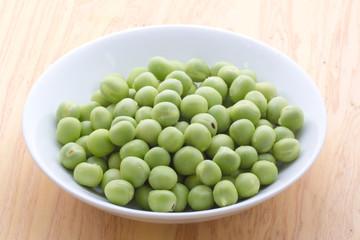 グリーンピースの生豆