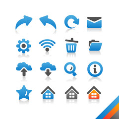 Web and Internet Icon set - Simplicity Series