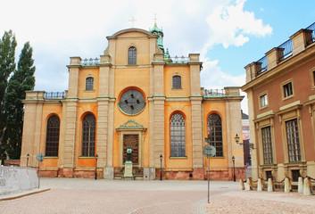 Storkyrkan - Cathedral of St Nicholas, Stockholm, Sweden