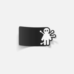 realistic design element: voodoo Doll