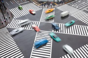 Fotomurales - Verkehrschaos