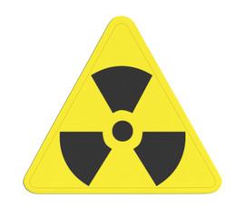 pictogramme radioactivité
