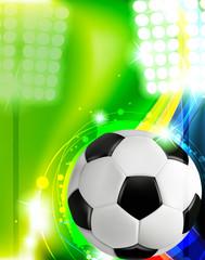 Soccer concept background