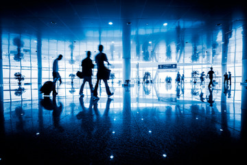 motion traveler of airport