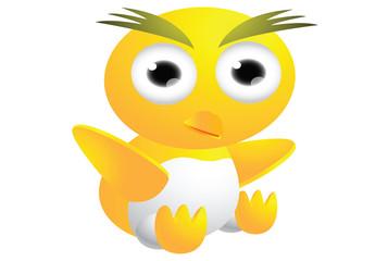 cute chicks cartoon