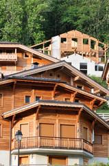 Constructions bois à Morzine