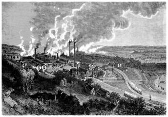 Industrial Area - 19th century