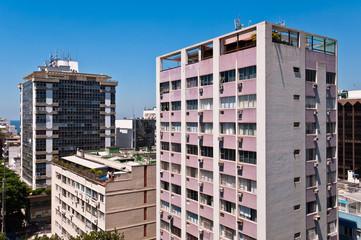 Apartment Buildings in Leblon, Rio de Janeiro, Brazil