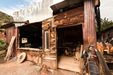 Jerome Arizona Ghost Town saloon