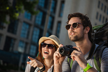 Tourist Sightseeing City