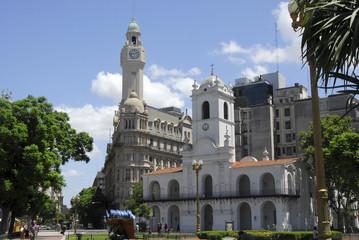 Cabildo y Consejo deliberante de la ciudad de Buenos Aires