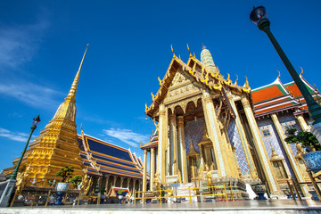 Temple of the Emerald Buddha, Golden Temple in thailand