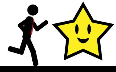 Run to star