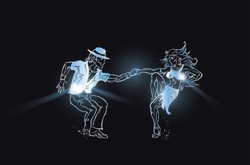 Dance Flyer Latino and Caraibic