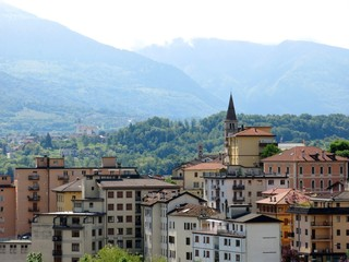 Belluno Village Mountains Italy