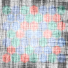 Grunge geometric hexagon pattern