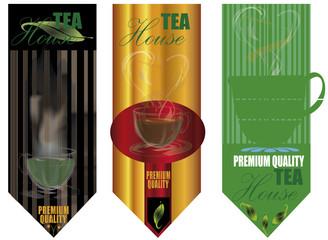 tee cup flavor design background
